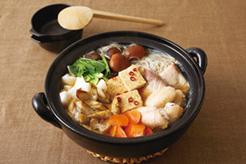 ぶり入り根菜鍋
